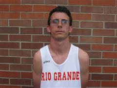 Kyle Hively recently competed at the Millrose Games in the race-walk event