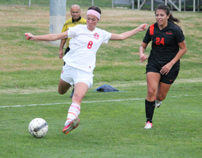 Rio Grande's Alex Davis had a goal and an assist in Saturday's win over the University of Pikeville