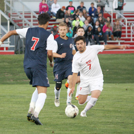 Rio Grande's Maxi Viera and the rest of the RedStorm enterain Campbellsville on Saturday night