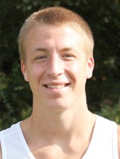 Sophomore Kyle Sanborn was one of two Rio Grande runners named Academic All-MSC