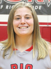 Sophomore forward Brooke Marcum is averaging 10 rebounds per game to lead the RedStorm