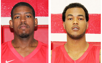Rio Grande's D.D. Joiner (left) and Dwayne Bazemore (right) were named to the All-KIAC men's basketball team on Monday