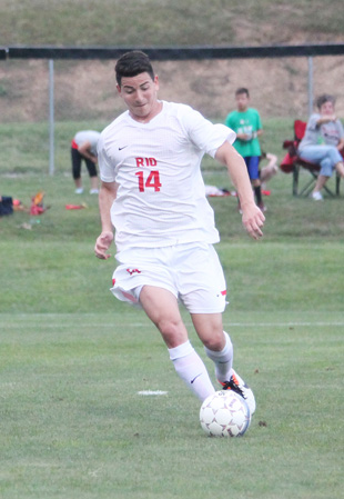Sophomore Patricio Arce netted his fourth goal of the year in Wednesday's win over UNOH
