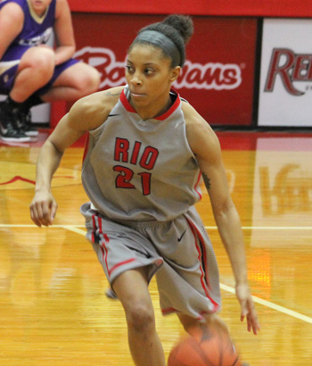 Rio Grande senior Brianna Thomas was named an NAIA DII 2nd Team All-American on Wednesday