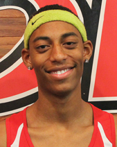 Freshman Jordon Cummings had Rio's lone first place finish at the Otterbein Invitational