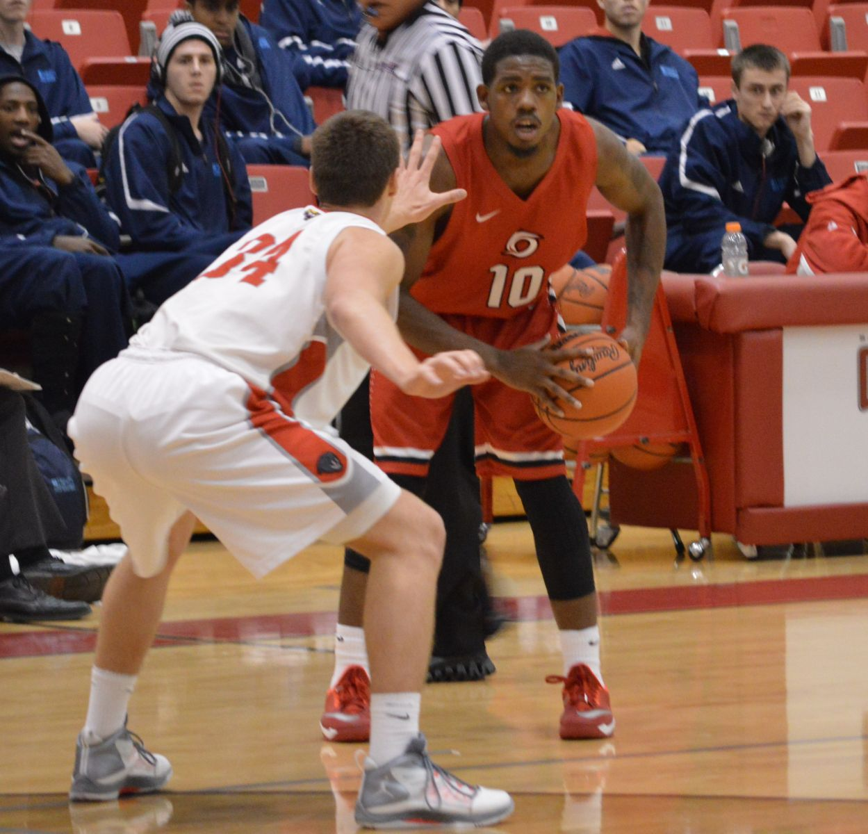 Rio Grande's D.D. Joiner and the rest of the RedStorm open the 2015-16 on November 6