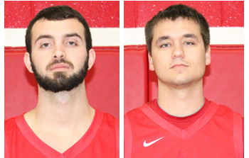 Rio seniors Evan Legg (left) and Travis Elliott (right) were named NAIA Scholar-Athletes
