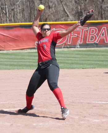 Rio Grande sophomore Jenna Jones was named KIAC Softball Pitcher of the Week on Monday