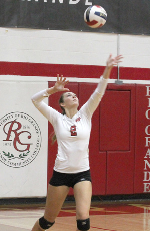 Rio's Kayla Briley and the rest of the RedStorm close out their regular season schedule on Saturday afternoon