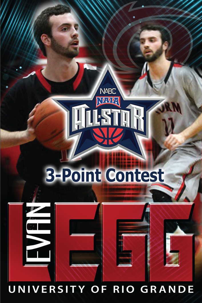 Rio Grande's Evan Legg will be among the participants in the NAIA All-Star 3-Point Shootout