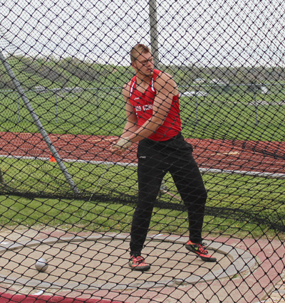 Rio Grande sophomore Alex Presley was named KIAC Outdoor Field Athlete of the Week on Monday