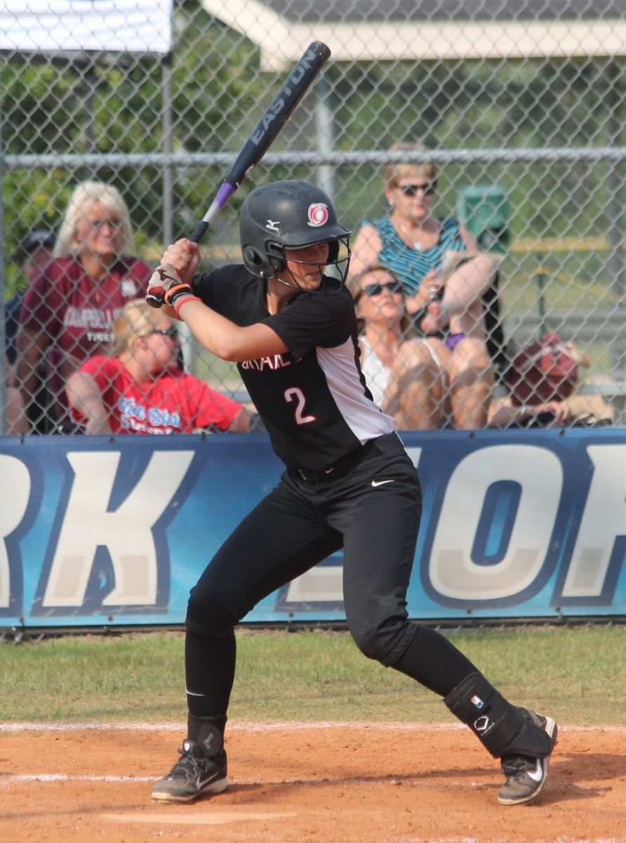 Rio Grande's Tayler Arndt had two hits and three RBI in Monday's 4-3 win over Campbellsville