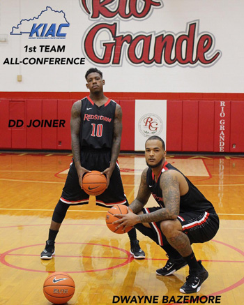 Rio seniors D.D. Joiner and Dwayne Bazemore were among those named to the All-KIAC First Team
