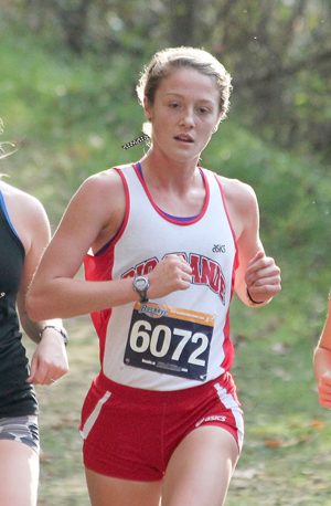 Sophomore Keri Lawrence led Rio Grande to the team title at Friday's RedStorm Classic
