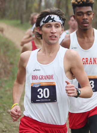 Rio's Blake Freed finished 2nd in Saturday's KIAC Championship to earn a trip to the NAIA nationals
