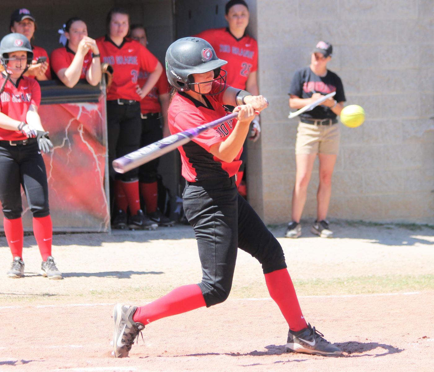 Junior Cheyenne Hamaker was named KIAC Player of the Week on Monday