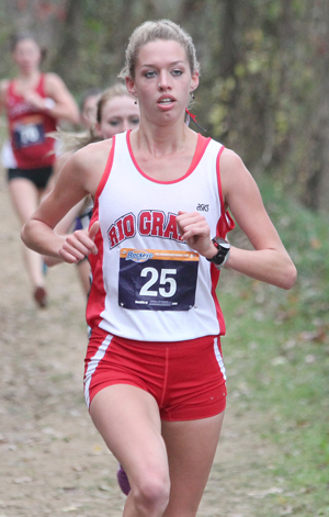 Freshman Lucy Williams earned a trip to the NAIA Nationals with a fourth place finish in the KIAC Championship