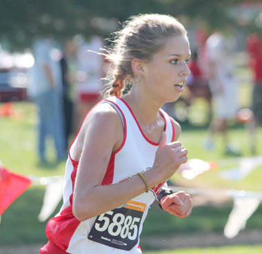 Freshman Lucy Williams had the top individual showing for Rio at Friday's All-Ohio Championships
