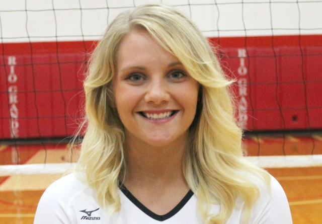 Rio senior Chandler Brown was named to the AVCA's NAIA All-MidCentral Region Team