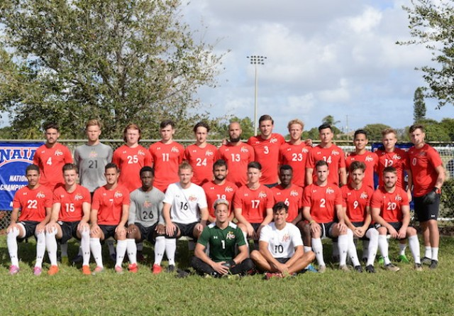 Rio Grande men's soccer fell short in its back-to-back title bid, falling 1-0 to Hastings (Neb.)