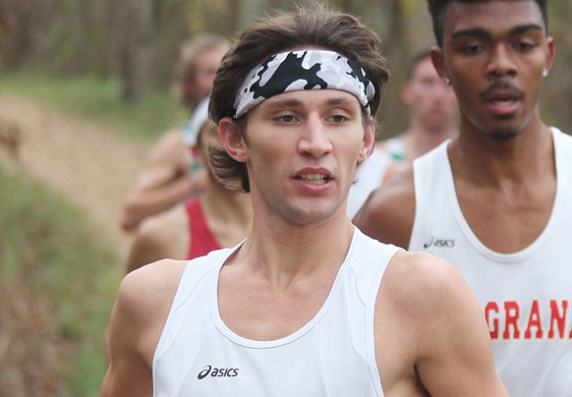 Rio Grande's Blake Freed was named the RSC Men's Cross Country Runner of the Week on Monday