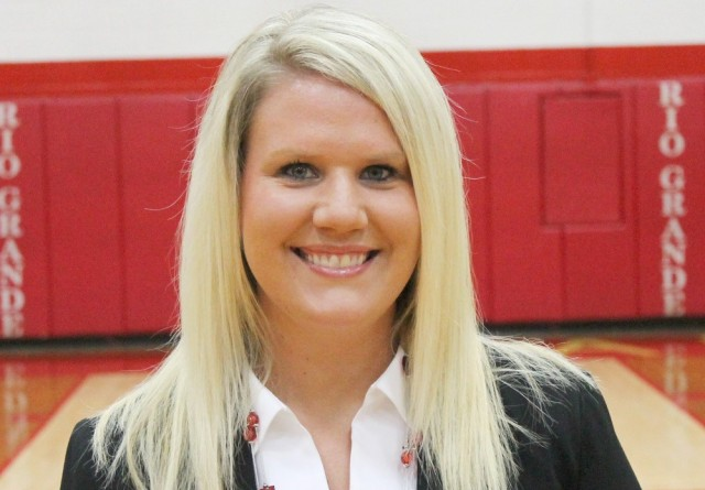 Taylor Butler is Rio Grande's new head cheerleading coach