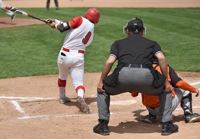 Rio Grande's Carlos Flores homered and drove in two runs in Tuesday's game two win over Pikeville
