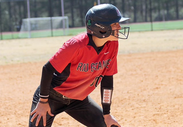 The return of senior Cheyenne Hamaker is oen of the reasons Rio softball is ranked 24th in the NAIA preseason poll