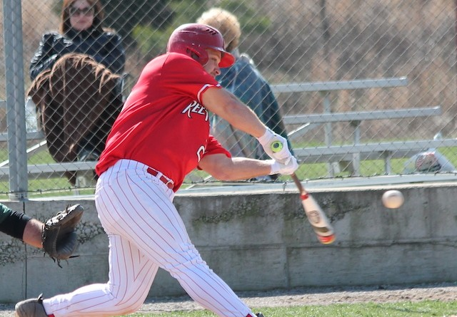 Rio Grande's Cody Blackburn helped the RedStorm finish a series sweep of Cincinnati Christian on Saturday