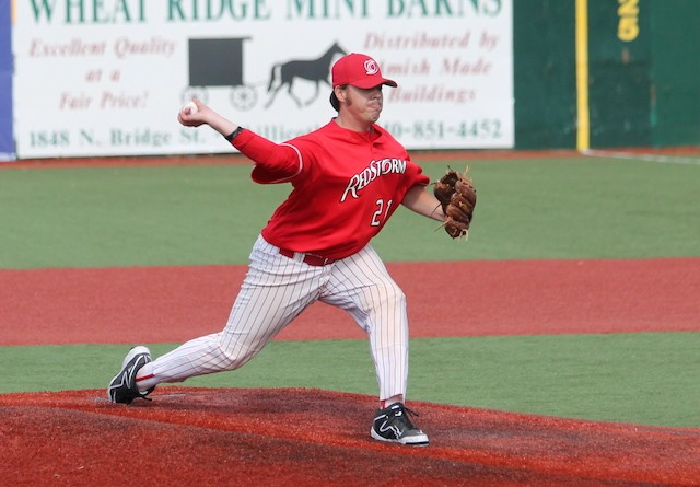 Rio Grande senior Trent Downs was named the RSC Pitcher of the Week on Monday