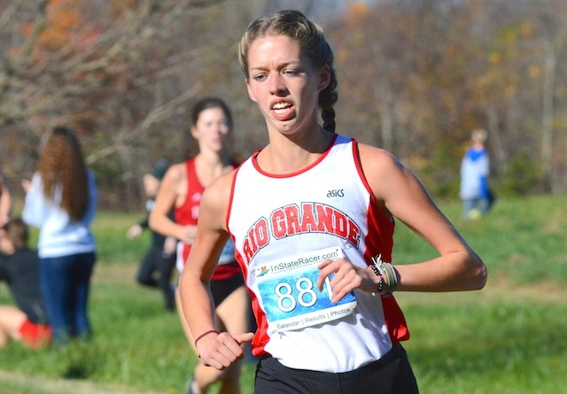 Lucy Williams led Rio to a conference title and a berth to the national championship on Saturday