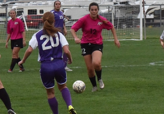 Rio's Haley Merritt netted her first goal of the season in Saturday's loss at Asbury