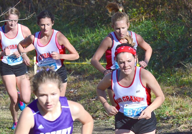 Rio Grande's women's cross country team will run in the NAIA National Championship on Saturday