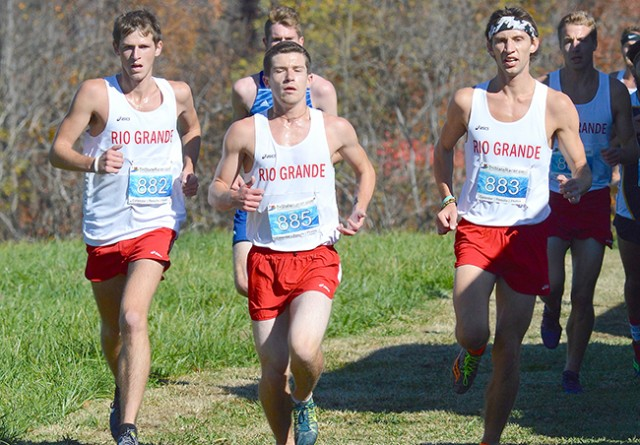 Rio Grande's men's cross country team will run in the NAIA National Championships on Saturday