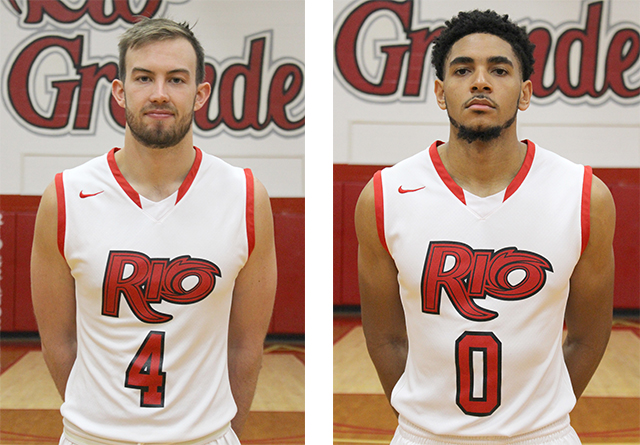 Rio's Corey Cruse (left) and Devon Price (right) were named to the 2017 NABC Honors Court