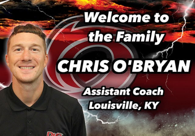 Louisville, Ky. native Chris O'Bryan is the latest addition to the Rio MBB coaching staff