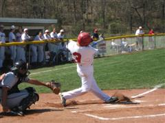 Rio's Tyler Schunk hit a home run in each game and collected his 7th win of the season vs. Pikeville College