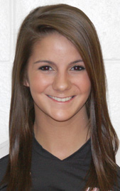 Junior setter Kelsey Martin is one of three Rio Grande volleyball players named 2012 Daktronics-NAIA Scholar Athletes