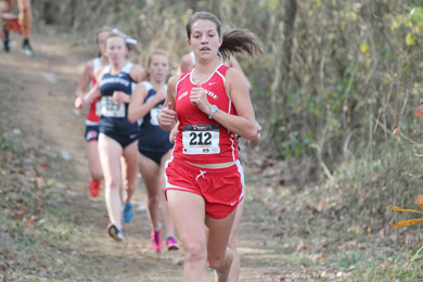 Rio Grande's Kayla Renner placed 7th in the MSC Cross Country championship and earned a spot in the NAIA national championshi