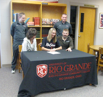 Benjamin Logan's Dana Van Buskirk signs to play soccer at Rio Grande