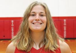 Rio senior Brooke Marcum was named RSC Player of the Week on Monday