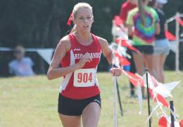 Rio's Lucy Williams earned her second straight individual title in Saturday's Patty Forgey Invitational