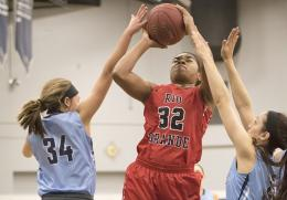 Rio Grande's Alexis Payne had 18 points to lead four double-digit scorers in a win at Wilberforce