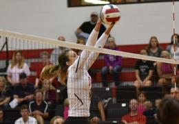 Rio senior Autumn Snider had 15 kills and seven blocks in Saturday's loss to Asbury