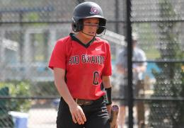 Rio Grande's Cheyenne Hamaker had two hits in Friday's game two win over South Carolina-Beaufort