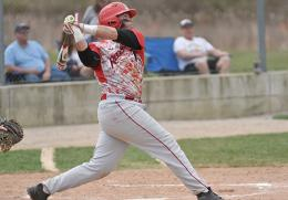 Rio senior Dan Crozier had four hits in Friday's doubleheader sweep of Cincinnati Christian