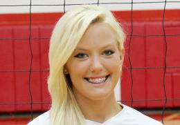 Junior Kylan Strausbaugh had a career-high 11 kills in Tuesday night's 3-1 win over Kentucky Christian
