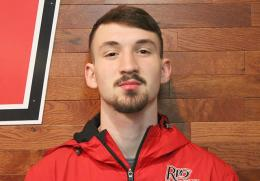 Rio's Conner Messer finished first in the pole vault at Friday night's Otterbein Twilight Invitational in Westerville, Ohio
