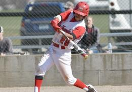 Rio's Logan Walters had three hits and two RBI in Saturday's 13-3 game one win over Ohio Christian